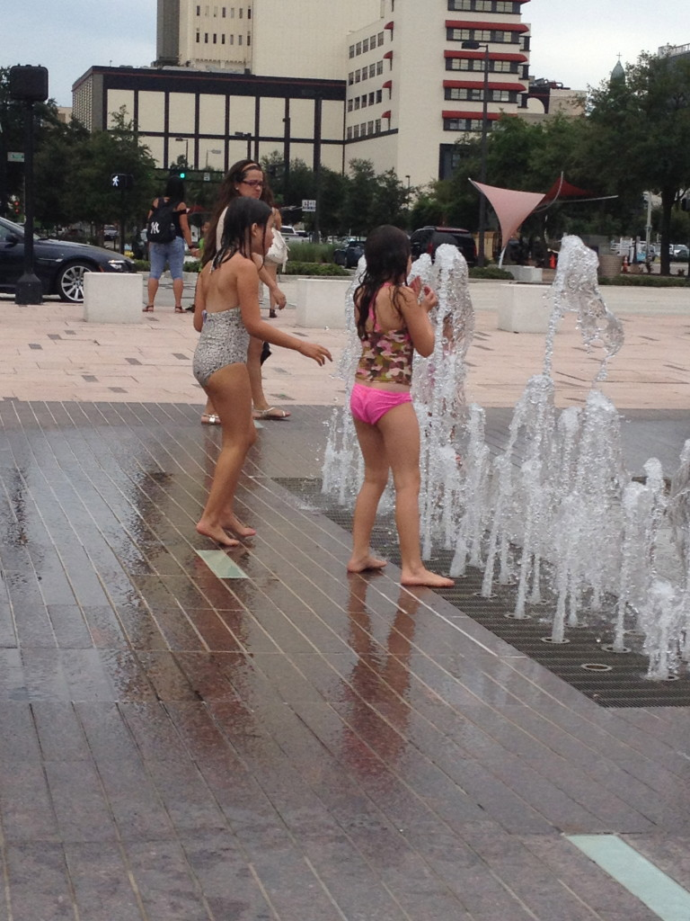 Splash Pad Curtis Hixon Waterfront Park Downtown Tampa
