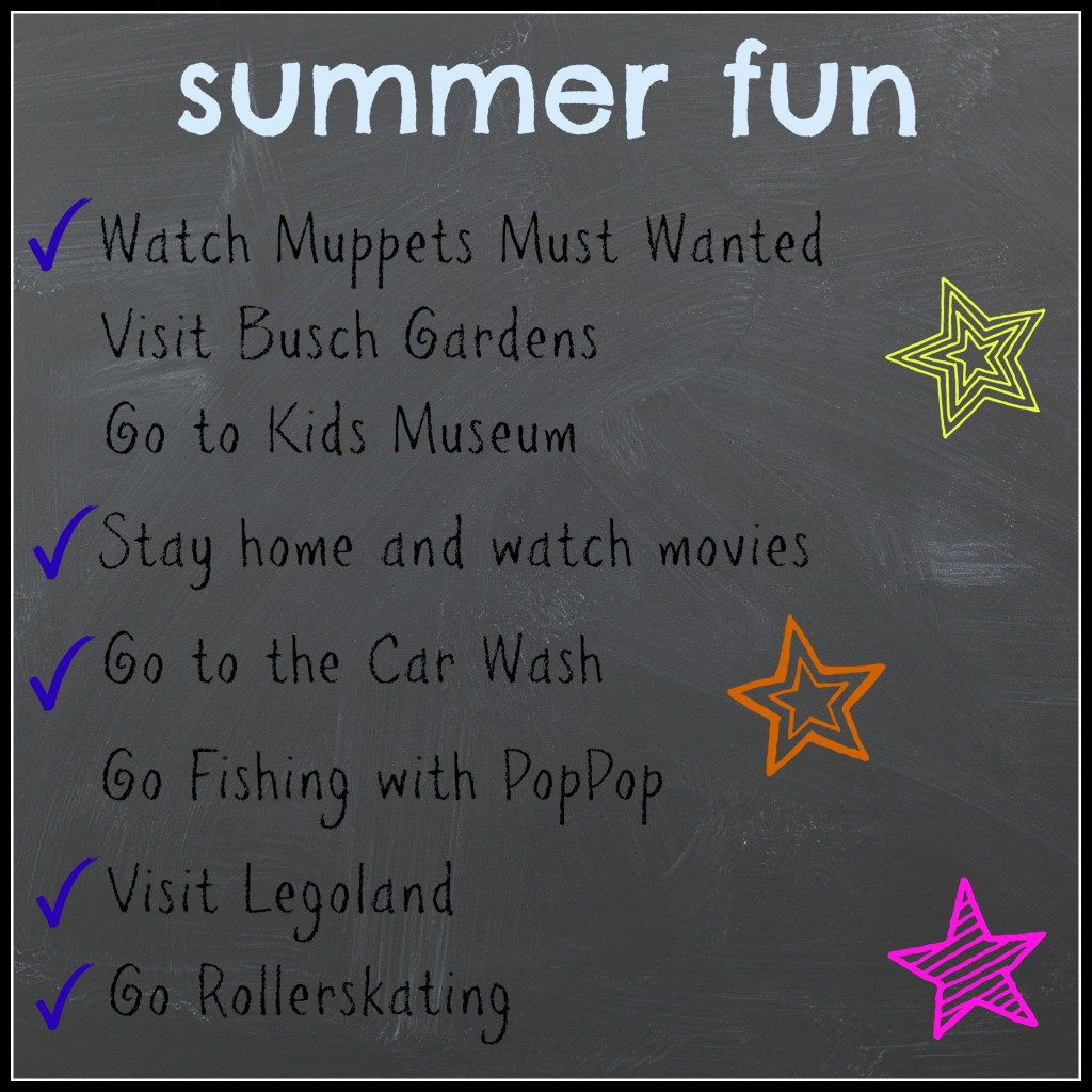 list of summer fun activities