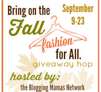 Fall Fashion for all giveaway hop