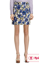 A-Line floral skirt by Brooks Brothers