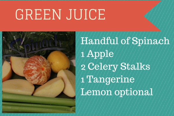 Spinach Green Juice