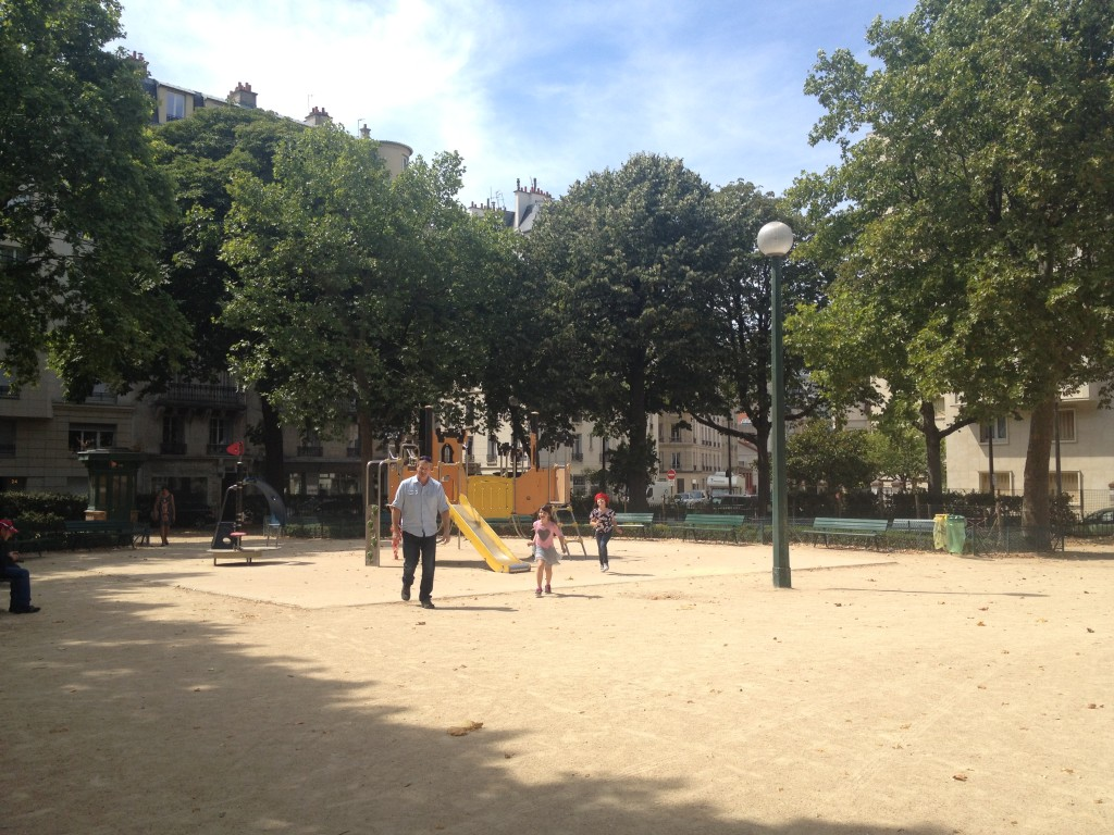 Park in Paris