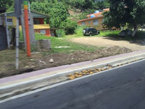 Sidewalk in Rincon
